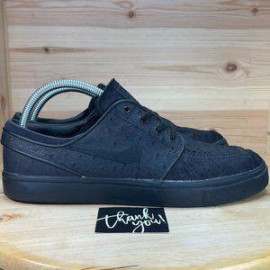 Mn Nike SB Stefan Janoski Black Athletic Shoes
